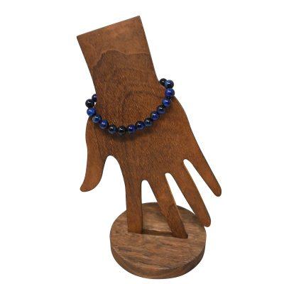 Blue Tiger Eye Bracelet 8mm