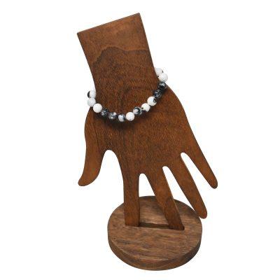 Zebra jasper bracelet 8mm